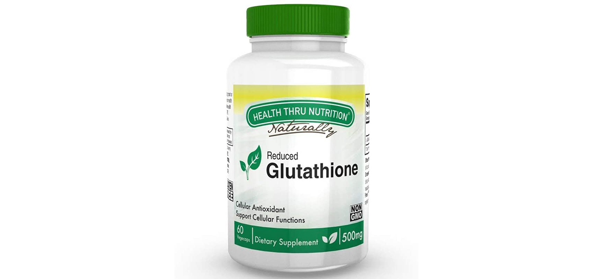Health Thru Nutrition Glutathione Reduced GSH 500mg