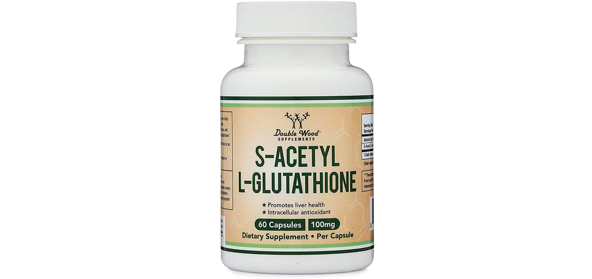 S-Acetyl L-Glutathione Capsules - 100mg