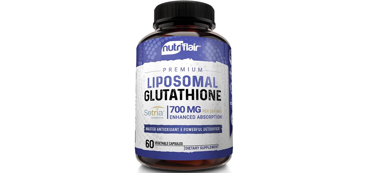 NutriFlair Liposomal Glutathione Setria® 700mg