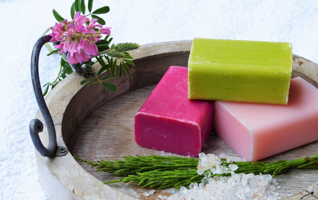 What is glutathione soap