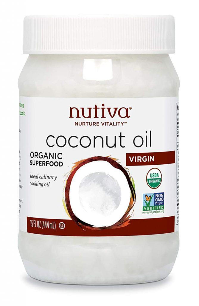 Nutiva Organic Virgin Coconut Oil - best organic coconut oil