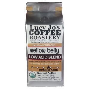 Lucy Jo's Coffee Mellow Belly Low Acid coffee