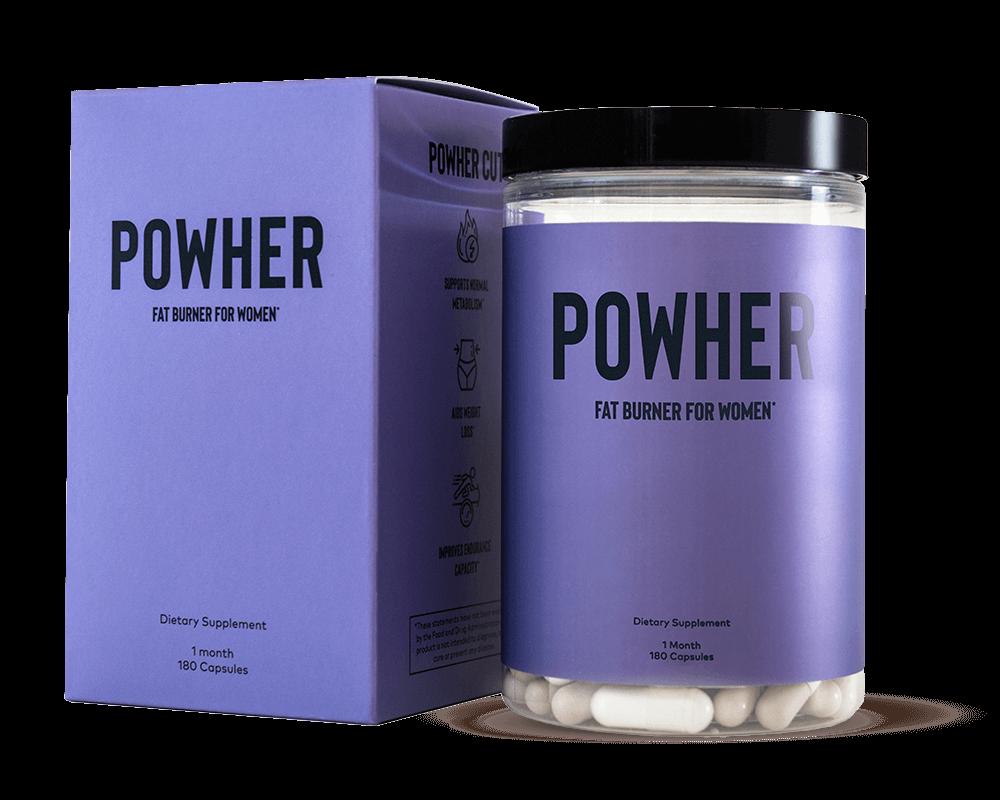 Powher fat burner for women best fat loss supplements for women