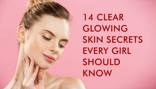 clear glowing skin secrets